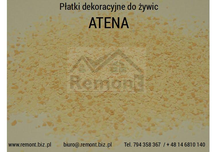 Płatki dekoracyjne do żywic ATENA