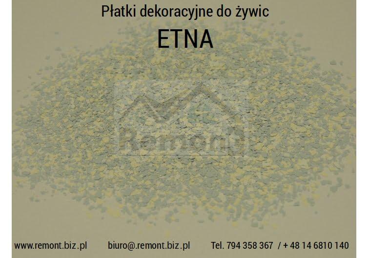 Płatki dekoracyjne do żywic ETNA