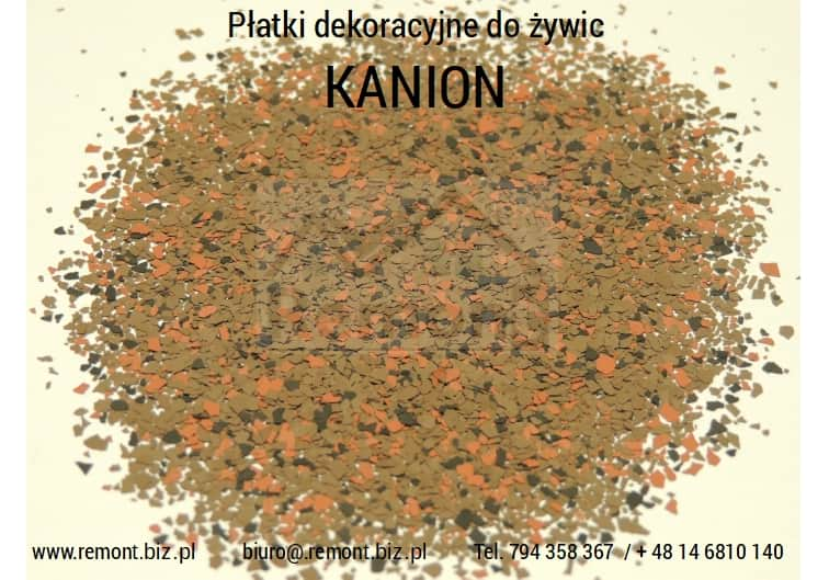 Płatki dekoracyjne do żywic KANION
