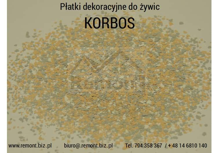 Płatki dekoracyjne do żywic KORBOS