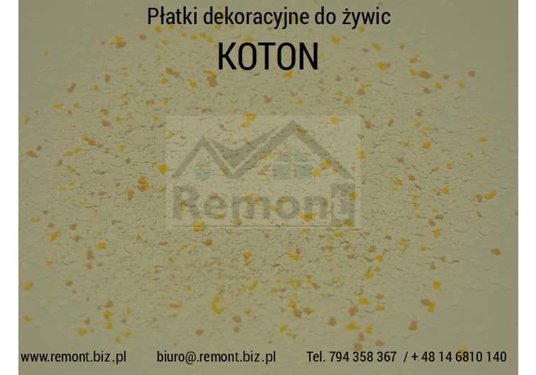 Płatki dekoracyjne do żywic KOTON