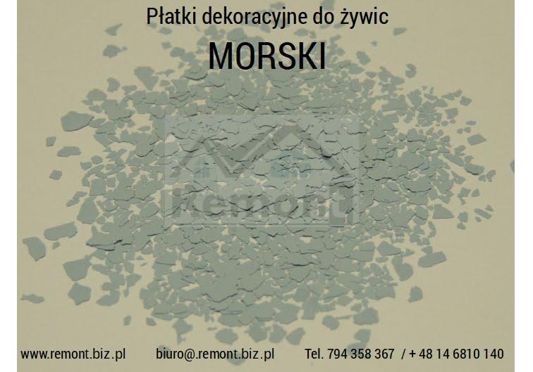 Płatki dekoracyjne do żywic MORSKI