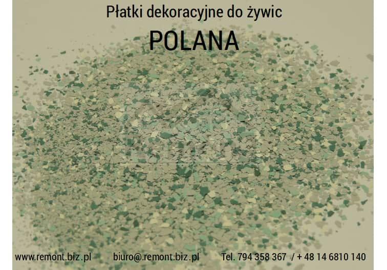 Płatki dekoracyjne do żywic POLANA