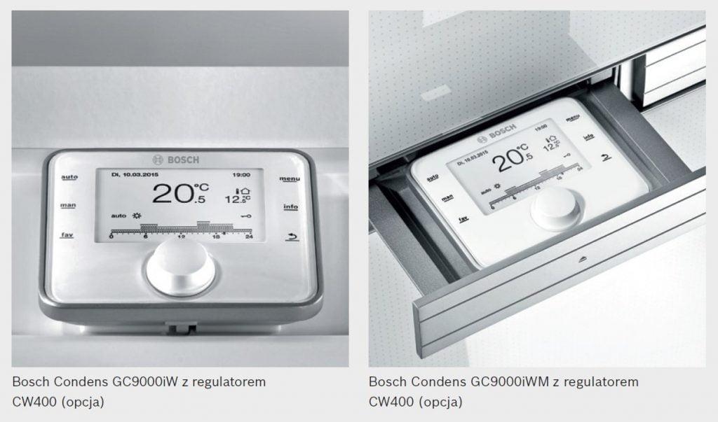 Bosch Condens GC9000iW z regulatorem oraz Bosch Condens GC9000iWM z regulatorem
