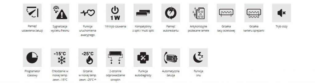 Cechy urządzenia - Rotenso CORE