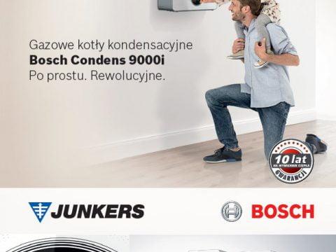 Junkers Bosch - ulotka Bosch Condens 9000i