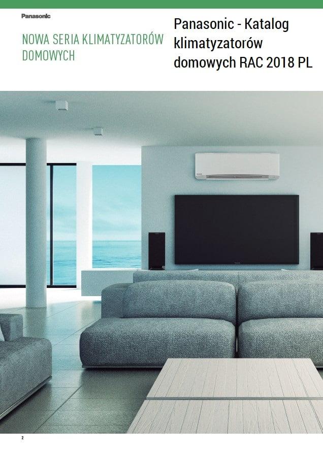 Panasonic - Katalog klimatyzatorów domowych RAC 2018 PL