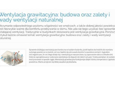 Wentylacja grawitacyjna budowa oraz zalety i wady wentylacji naturalnej