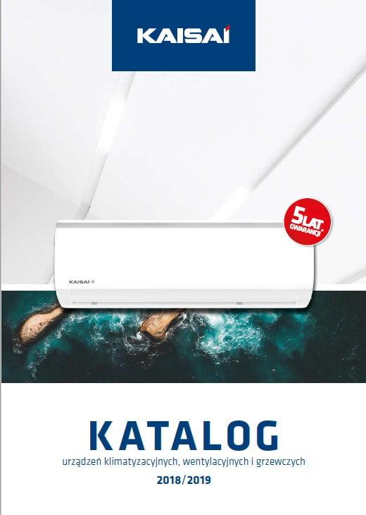 Kaisai - katalog urządzeń klimatyzacyjnych, wentylacyjnych i grzewczych 2018-2019