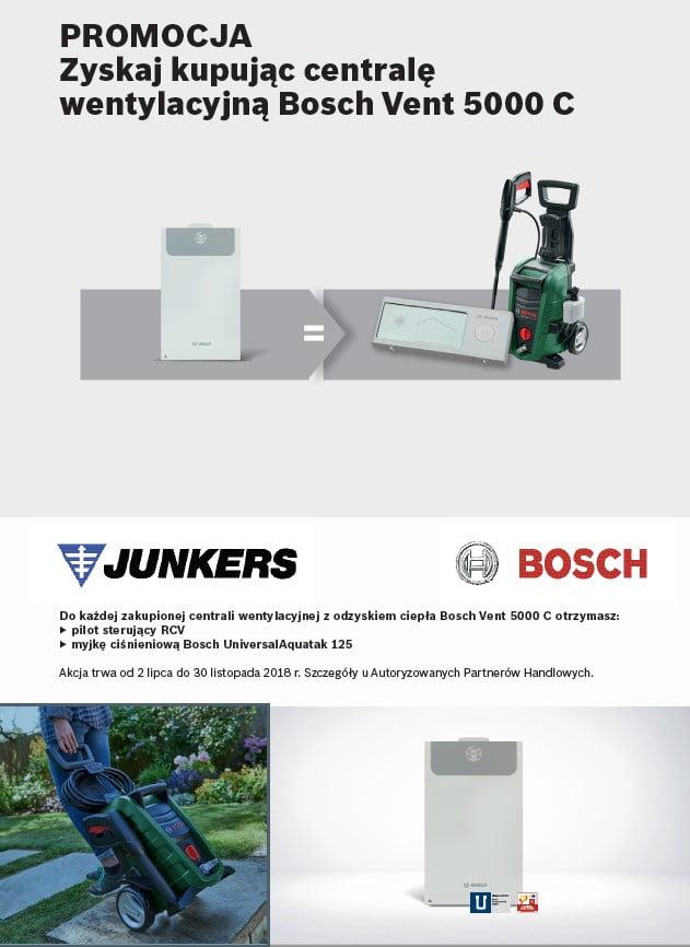 PROMOCJA Zyskaj kupując centralę wentylacyjną Bosch Vent 5000 C