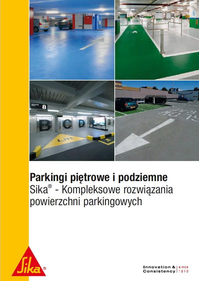 Rozwiazania Sika dla parkingow
