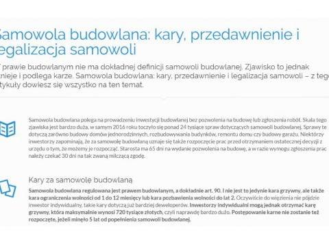 Samowola budowlana- kary, przedawnienie i legalizacja samowoli