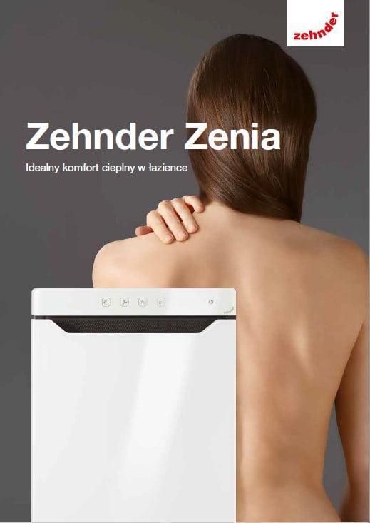 Folder produktowy Zehnder Zenia (B2C)