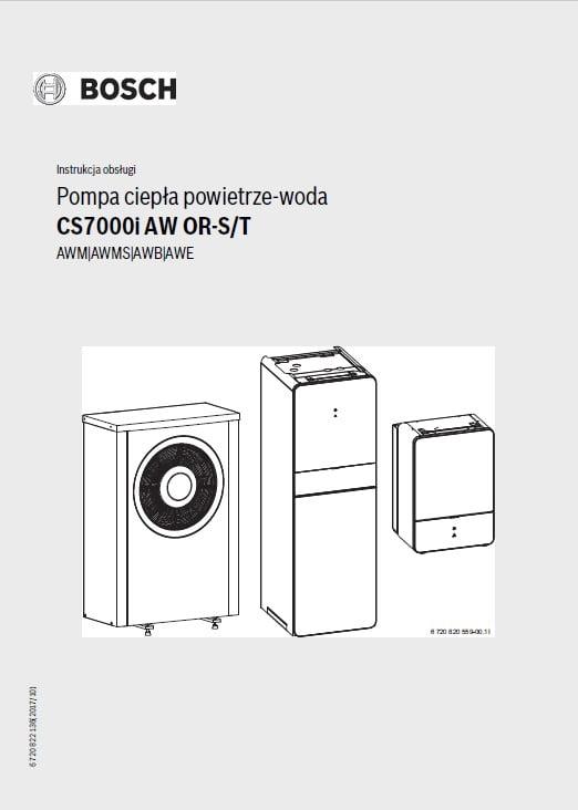 Junkers Bosch Compress 7000i - instrukcja obsługi
