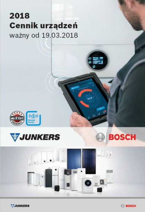 Cennik Junkers Bosch - 2018