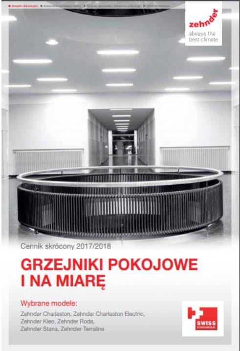 Cennik Zehnder 2017-2018 - Grzejniki Pokojowe i na Miarę