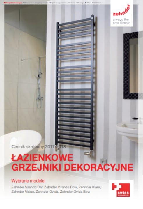 Cennik Zehnder 2017-2018 - Grzejniki dekoracyjne łazienkowe