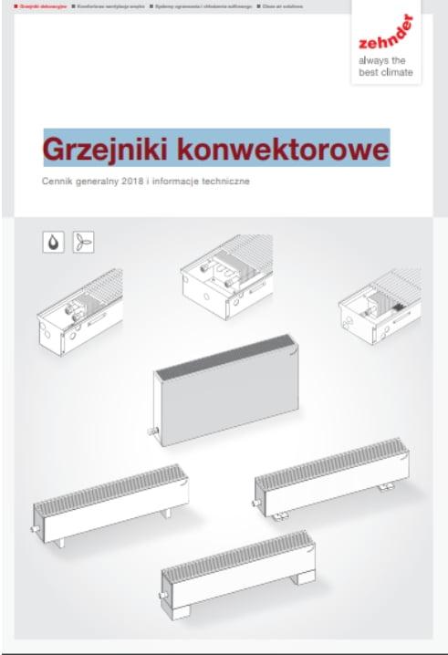Cennik Zehnder 2018 - Grzejniki konwektorowe