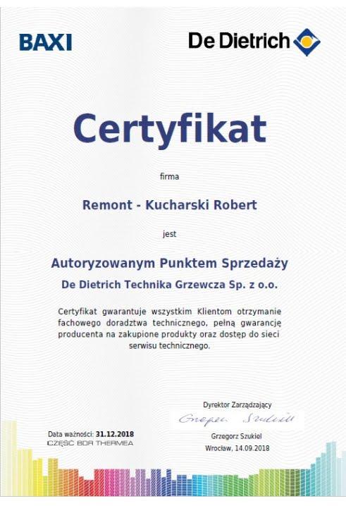 De dietrich - autoryzowany punkt sprzedaży