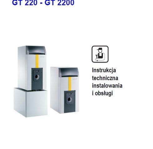 De dietrich olejowo-gazowy kocioł grzewczy GT 220 - GT 2200 - Instrukcja techniczna instalowania i obsługi