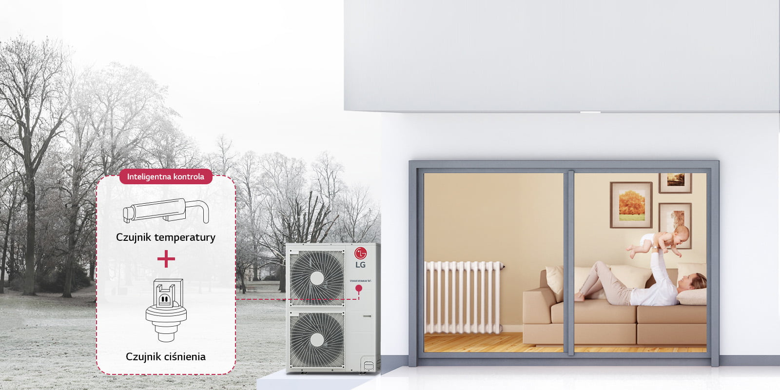 Kontrola ciśnienia oraz temperatury czynnika chłodnicznego pozwala na sprawne reagowanie na zmiany obciążenia.