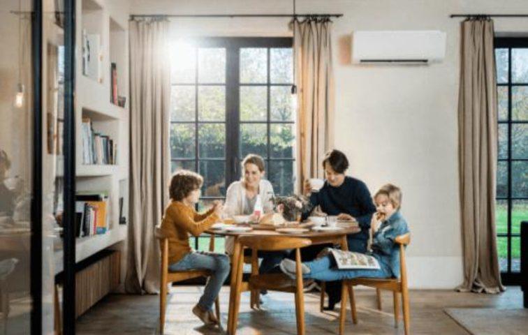 Klimatyzator do ogrzewania domu
