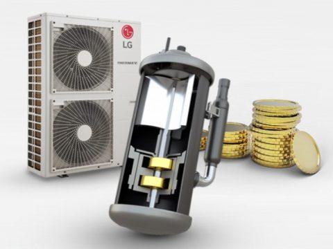 LG Therma V - efektywność energetyczna