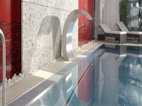 Nowoczesność i elegancja w jednym, niecki basenowe ze stali szlachetnej