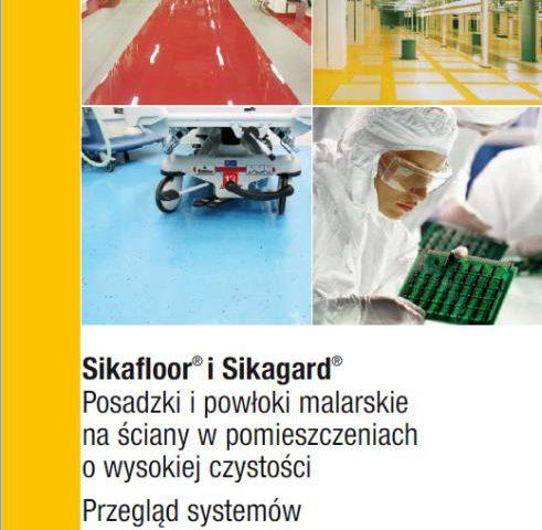 Sikafloor i Sikagard - posadzki i powłoki malarskie na ścianach w pomieszczeniach o wysokiej czystości