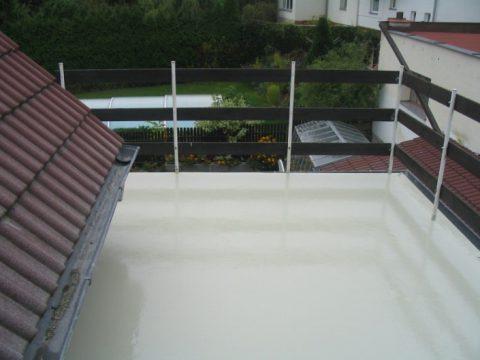 Zywica na balkon zamiast płytek
