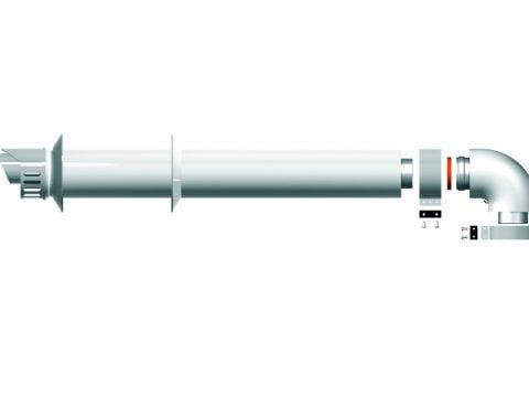 Ariston - Zestaw koncentryczny standard L1000 m z kolanem 60-100
