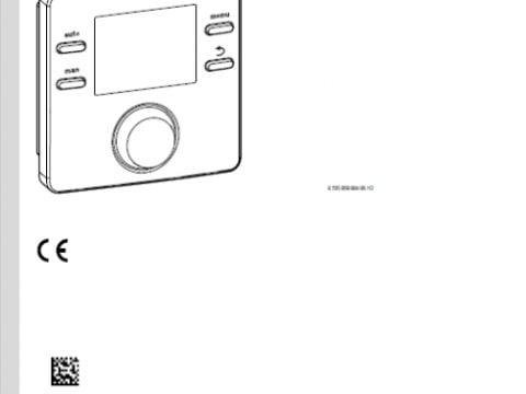 CR 100, CW 100 - Instrukcja montażu dla instalatora