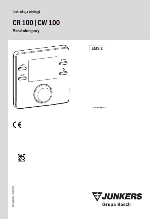 CR 100, CW 100 Instrukcja obsługi