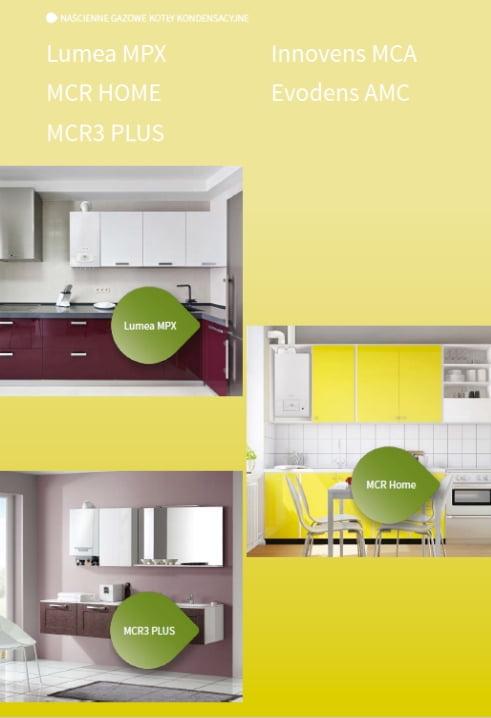 De Dietrich cennik 2018 - Naścienne gazowe kotły kondensacyjne (Lumea MPX, MCR Home, MCR3 PLUS, Innovens MCA, Evodens AMC)