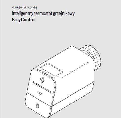 Instrukcja montażu i obsługi Bosch Inteligentny termostat grzejnikowy