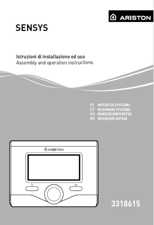 Instrukcja obsługi SENSYS
