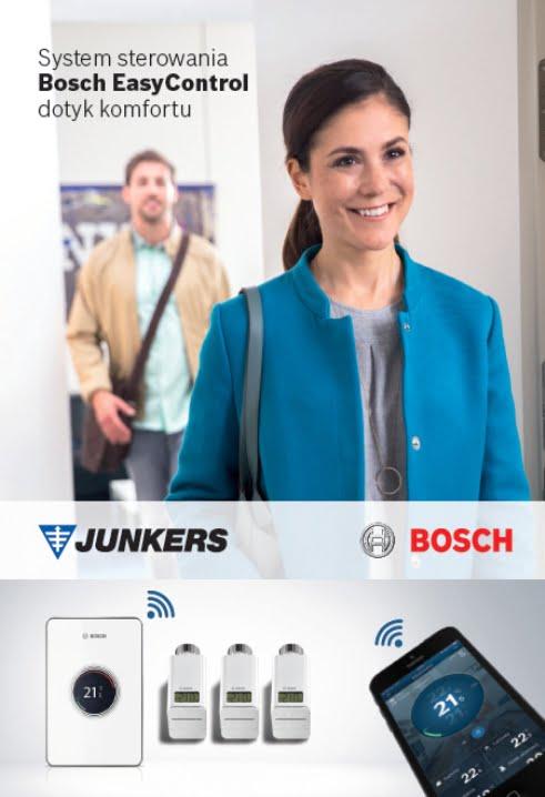 JUNKERS BOSCH Ulotka Bosch EasyControl