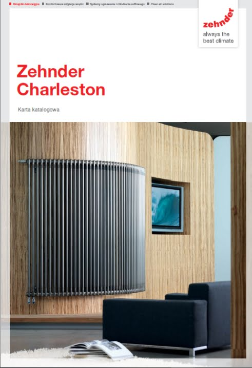 Folder produktowy Zehnder Charleston
