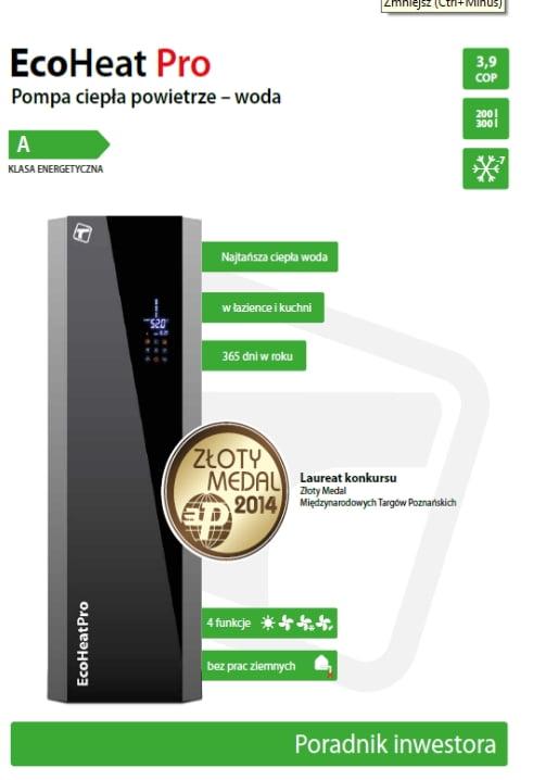 Poradnik Inwestora Tweetop EcoHeat Pro
