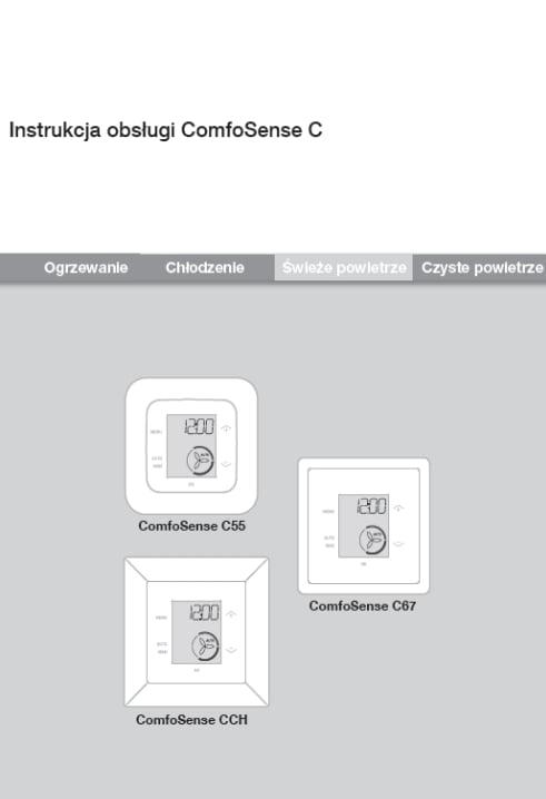 Instrukcja obsługi Zehnder ComfoSense C