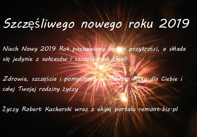 Szczesliwego nowego roku 2019