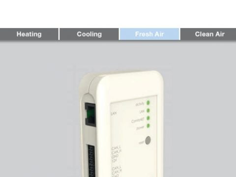 ComfoConnect LAN C - instrukcja obsługi