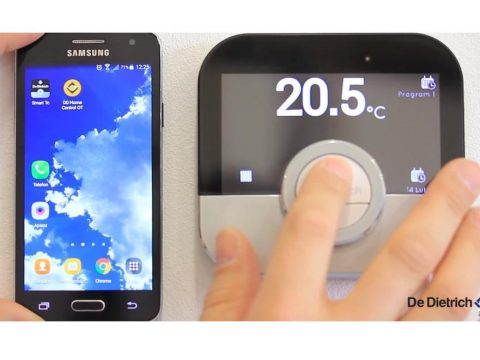 De Dietrich SMART TC - Praca z aplikacją mobilną