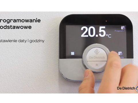 De Dietrich SMART TC - Ustawienia termostatu