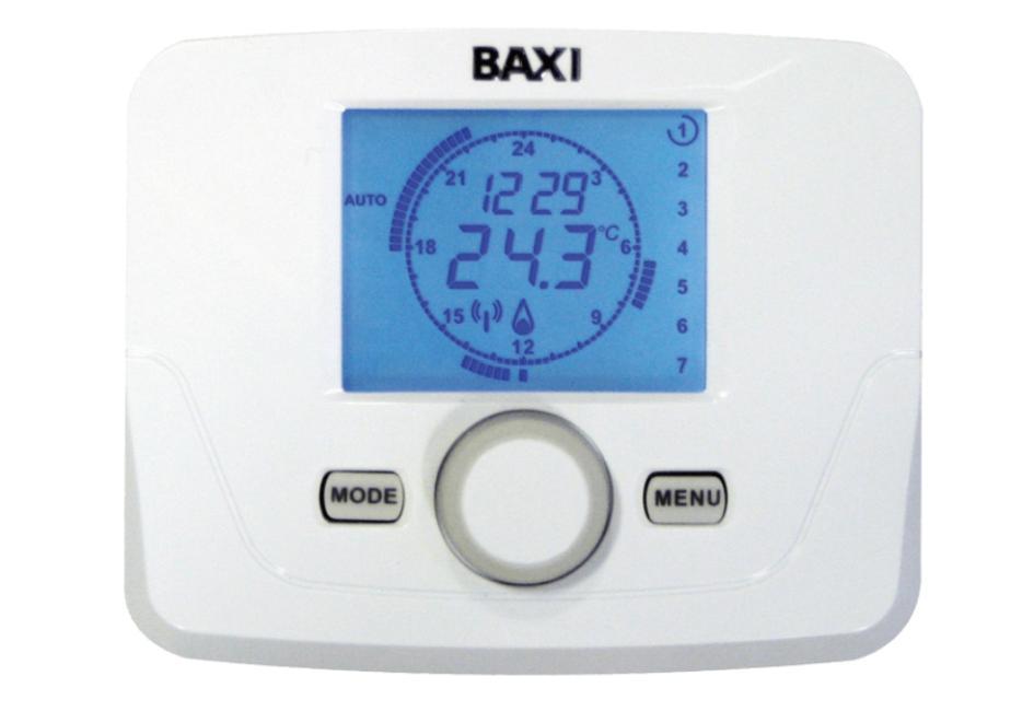 Termostat pokojowy programowalny BAXI