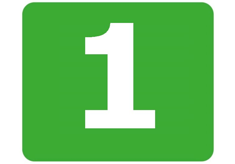 1 - zielona