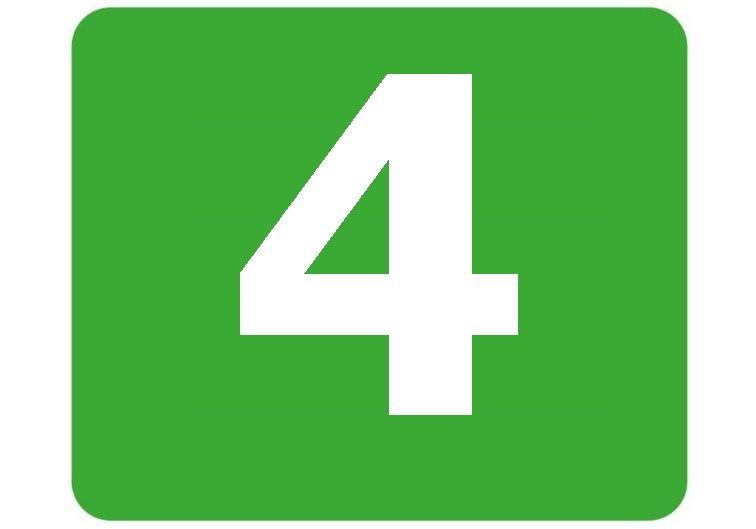 4 - zielona