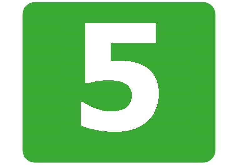 5 - zielona