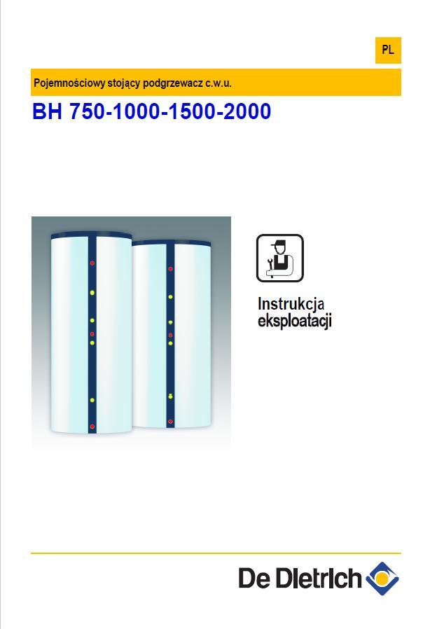 BH Podgrzewacze pojemnościowe – Instrukcja Eksploatacji