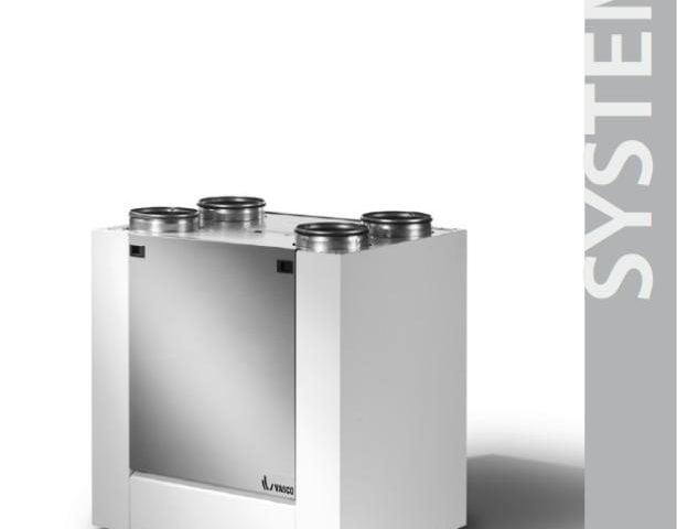 Instrukcja montażu i uruchomienia rekuperatorów Vasco X (X350, X500)-A
